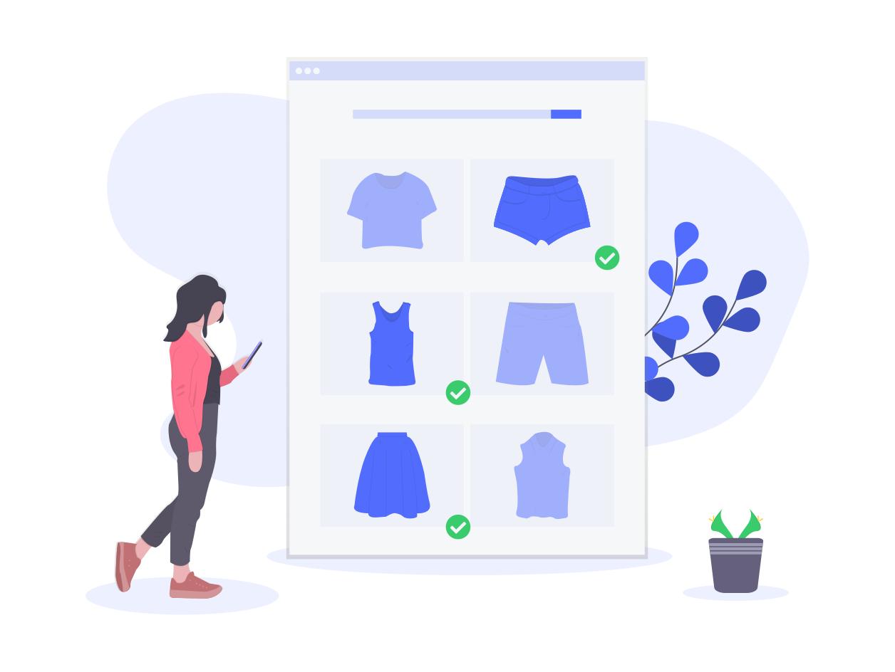 Web solution, online store development